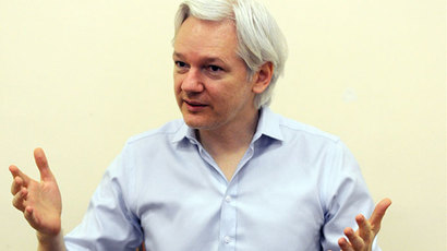 Julian Assange.(AFP Photo / Anthony Devlin)