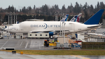 A Boeing Dreamlifter jet (Reuters / Anthony Bolante)
