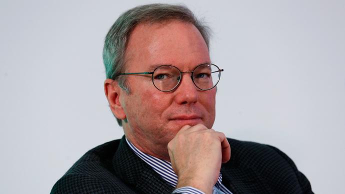 Google Executive Chairman Eric Schmidt (Reuters / Bobby Yip)
