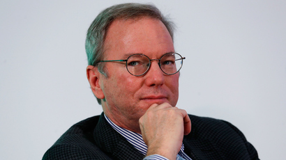 Google Executive Chairman Eric Schmidt (Reuters / Bobby Yip)