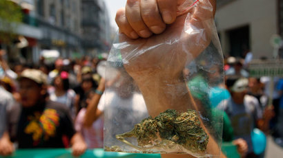 Pot tolerance: Obama says marijuana 'same as alcohol or cigarettes'