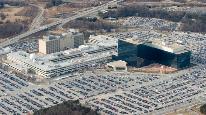 The National Security Agency (NSA) headquarters at Fort Meade, Maryland (AFP Photo / Saul Loeb)