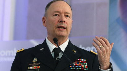 U.S. Army Gen. Keith Alexander, director of the National Security Agency.(AFP Photo / Mark Wilson)