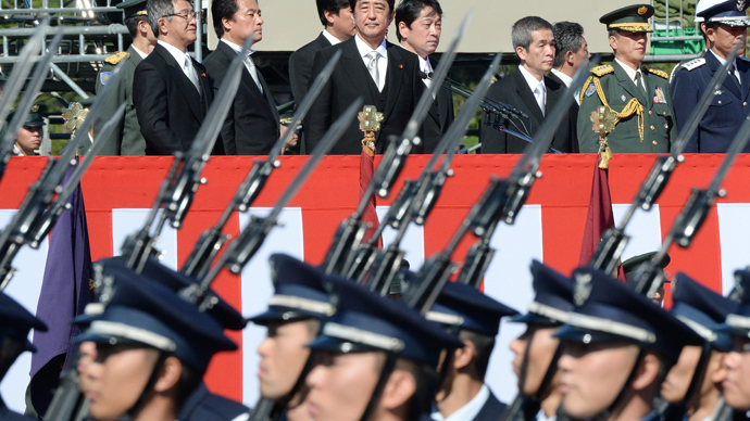 Hawkish Japan eyes military boost amid island dispute with China