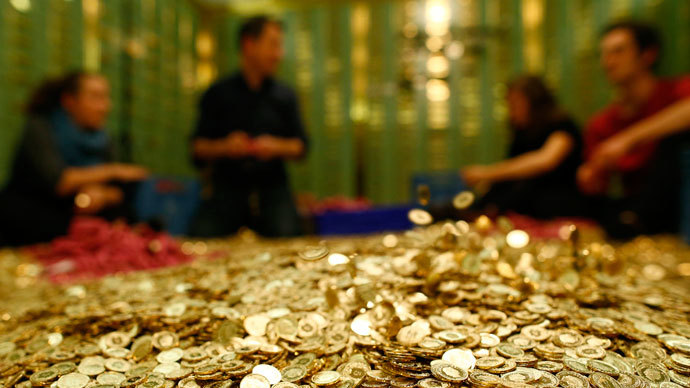 8,000,000 coins for sale: Auction call for genuine Swiss bank vault