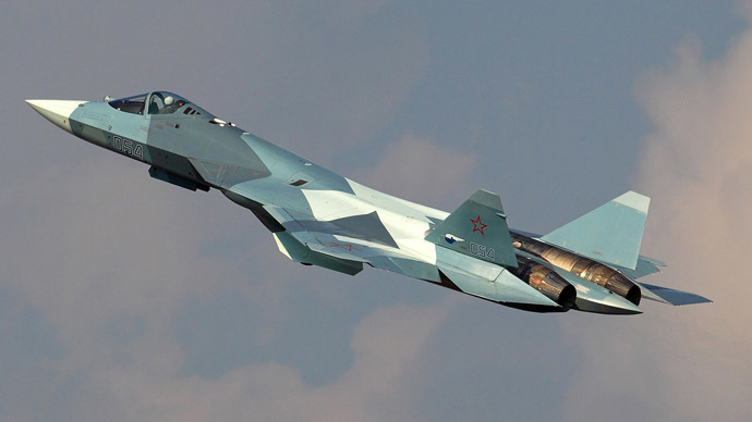 Sukhoi fifth generation fighter jet, currently known as the PAK FA (Photo from russianplanes.net)