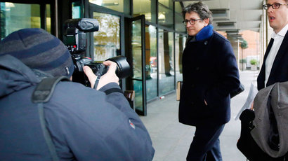 The editor of The Guardian Alan Rusbridger.(Reuters / Luke MacGregor)