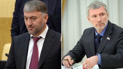 Adam Delimkhanov, Alexei Zhuravlyov.(RIA Novosti /  Vladimir Fedorenko / Aleksey Nikolskyi)