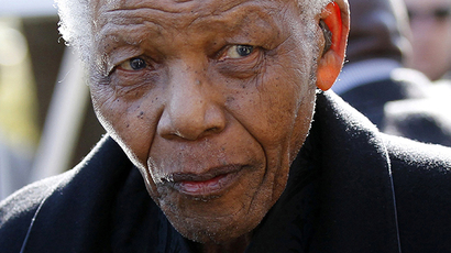 Nelson Mandela (AFP Photo / Siphiwe Sibeko)