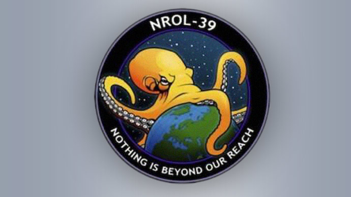 'Nothing is beyond our reach': Evil octopus strangling the world becomes latest US intelligence seal