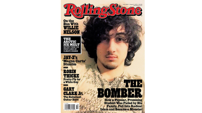 Controversial Rolling Stone Tsarnaev cover named 'Hottest' of the year