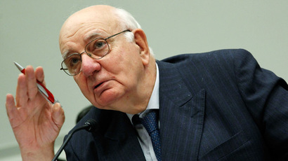 Former Federal Reserve Board Chairman Paul Volcker (Mark Wilson/Getty Images/AFP)