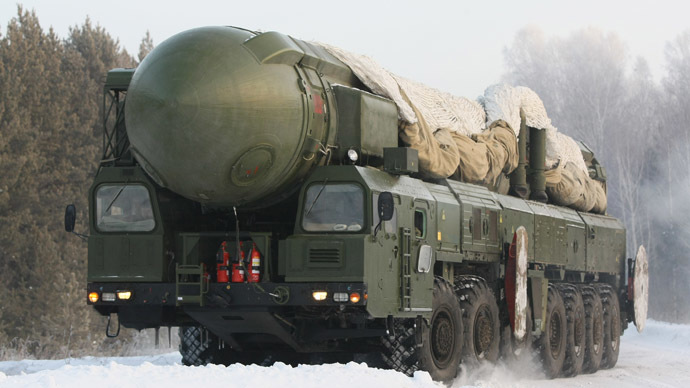 The RT-2PM Topol ballistic missile (RIA Novosti/Alexandr Kryazhev)