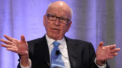 News Corp. CEO Rupert Murdoch (Justin Sullivan/Getty Images/AFP)