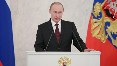 Putin advocates single cultural space within Russian borders
