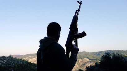 (ARCHIVE PHOTO) A Syrian rebel. (AFP Photo / Sezayi Erken)
