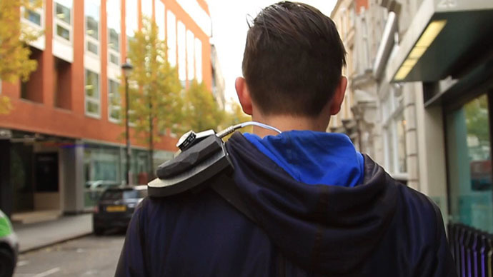 Wearable surveillance camera detection 'armor' makes its debut