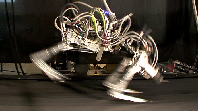 Google buys Pentagon-funded robotics firm behind fastest-legged robot