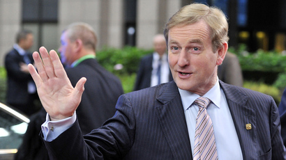 Irish Prime minister Enda Kenny (AFP Photo / Georges Gobet)