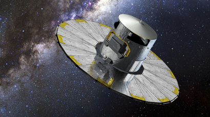 This handout picture shows an artist impression of Gaia. (AFP Photo / ESA / D. Durcos)