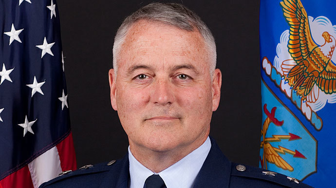 United States Air Force Major General Michael Carey.(Reuters / U.S. Air Force)