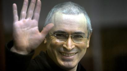 Mikhail Khodorkovsky (AFP Photo / Dmitry Kostyukov)