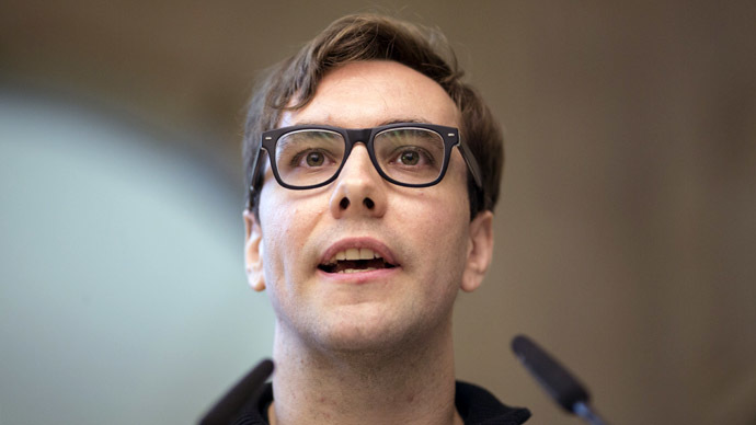 US Internet activist Jacob Appelbaum (AFP Photo/DPA)