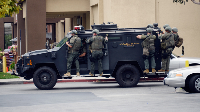 Californians Outraged After Police Acquire Military