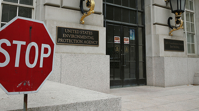 The Environmental Protection Agency (EPA) building in Washington, DC. (AFP Photo / Mark Wilson)