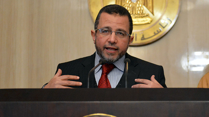 Egyptian Prime Minister Hisham Qandil (AFP Photo / Khaled Desouki)