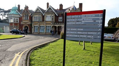 The Mansion House at Bletchley Park in Milton Keynes, north of London on February 20, 2013.(AFP Photo / Chris Radburn)
