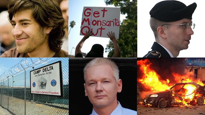 Swartz, Fracking, Manning, GMO: 13 most underreported news stories of 2013