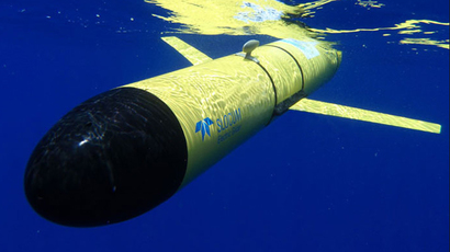 Slocum Glider (Image from whoi.edu)