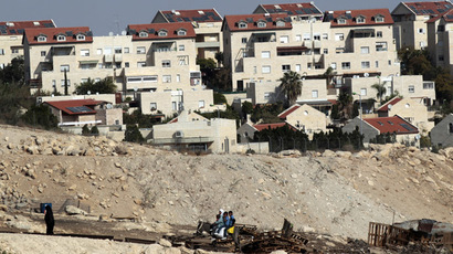 Homes in the West Bank Jewish settlement of Maale Adumim, near Jerusalem November 13, 2013. (Reuters/Ammar Awad)