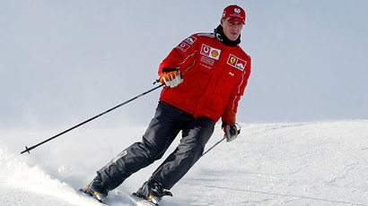 Michael Schumacher.(AFP Photo / Vincenzo Pinto)