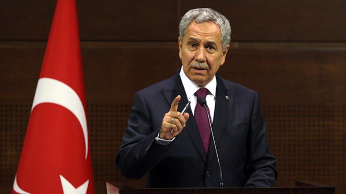 Turkish Deputy Prime Minister Bulent Arinc (AFP Photo)