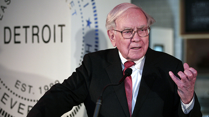 Warren Buffet (AFP Photo / Bill Pugliano)