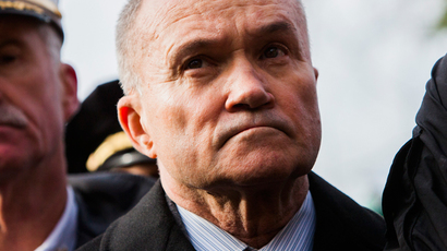 Commissioner of the New York City Police Department (NYPD) Ray Kelly (AFP Photo / Christopher Gregory)