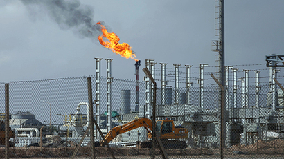 A view of the Mellitah Oil and Gas complex, 100 km (60 miles) west of Tripoli (Reuters / Ismail Zetouni)