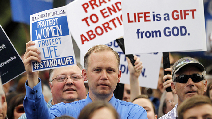 ​More state abortion restrictions passed in last three years than in previous decade