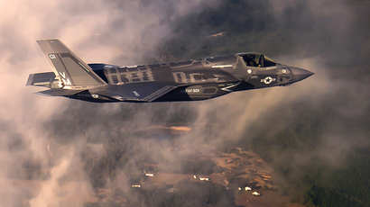 U.S. Air Force handout photo of an F-35 fighter jet (Reuters)