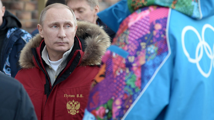 Putin lifts ban on protests at Sochi Olympics, orders area specially for rallies