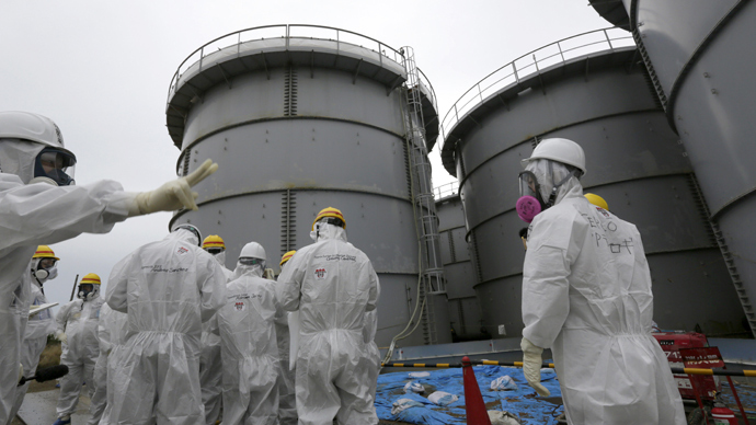 Duct Tape Wire Nets Were Used To Mend Fukushima Water