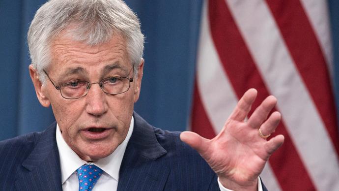US Secretary of Defense Chuck Hagel (AFP Photo / Paul J. Richards)