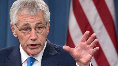 US Secretary of Defense Chuck Hagel (AFP Photo / Paul J. Richards)