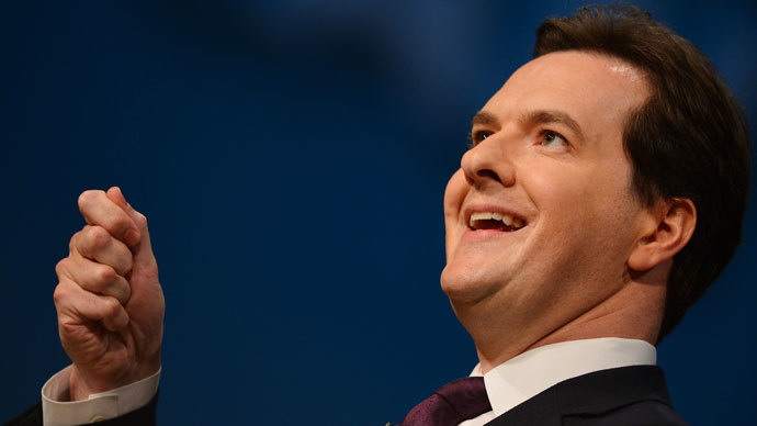 Britain's Chancellor of the Exchequer George Osborne.(AFP Photo / Ben Stansall)