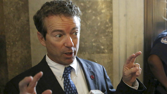 Rand Paul wants 'light' prison term for Snowden