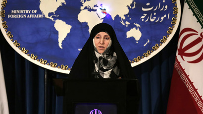 Iran's foreign ministry spokeswoman Marzieh Afkham (AFP Photo/Atta Kenare)