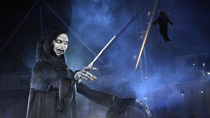 Lord Voldemort (AFP Photo / Adrian Dennis)