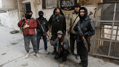 Members of Islamist Syrian rebel group Jabhat al-Nusra (Reuters/Molhem Barakat)